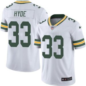 Nike Packers #33 Micah Hyde White Men's Stitched NFL Limited Rush Jersey